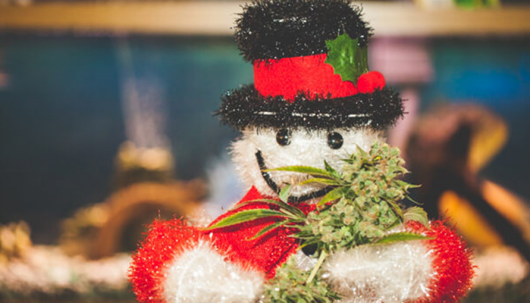 Ring in the Holiday Season with Cannabis Holiday Decorations
